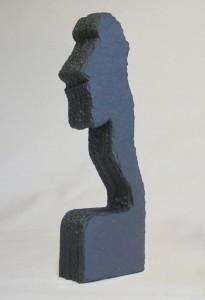 """Schieferkunst Skulptur """"Charakter"""""""