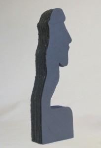 Schieferkunst Skulptur aus Naturschiefer
