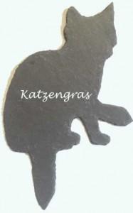 Schiefer Katze Pflanztafel