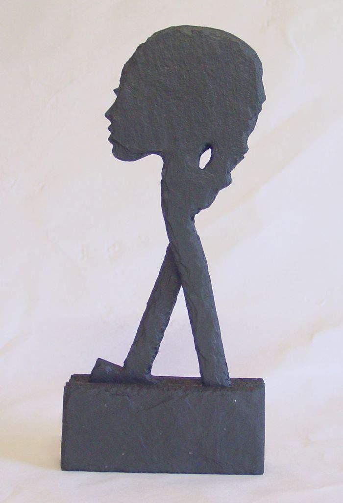 Schieferskulptur