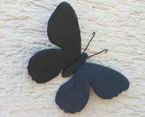 Schmetterling aus Schiefer